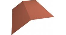 Коньки для кровли из металлочерепицы в Калуге Планка конька 190х190