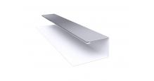Металлические доборные элементы для фасада в Калуге Планка П-образная/завершающая сложная 20х30